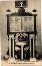 CPA  Montagnieu (Isére) - Le Monument aux Morts de la Grande Guerre   (296172)