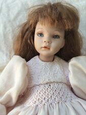 """Pauline Bjonness Jacobsen Limited Edition Porcelain Doll 11"""" Sold As Is"""