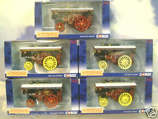 5 CORGI 1/76 BURRELL SHOWMAN'S ENGINES DG125020/21/22/23/24 STAR/TERESA/MAJESTIC