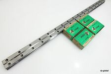 HGW25H+1000mm HGR25 HIWIN LM Guide THK HSR25LA Linear Bearing 2Rail 4Block CNC