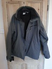 Salomon Ski Jacket Grey UK Mens Large