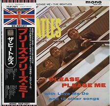 The Beatles - Please Please Me TOJP JAPAN LP with OBI and LYRIC SHEET, NM VINYL