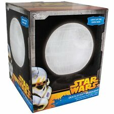 Star Wars DEATH STAR MOOD LIGHT Portable Glow Desk NIGHT Lamp 18cm dia MOONLIGHT