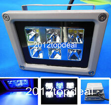 GROW LIGHT Lamps Floodlight For Reef Coral Fish Tank Aquarium 18W White Blue LED
