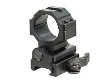 UTG QD Flip-to-Side Weaver Rail Ring Mount w/ Inserts for Magnifier & Flashlight