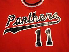 Vintage Panthers #11 Baseball Jersey Style Rawlings T Shirt L