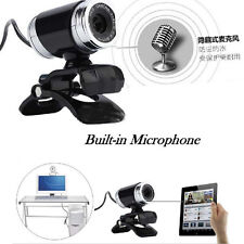 USB 50MP HD Webcam Web Cam Camera Mit MIC&Clip For Laptop Desktop Computer PC
