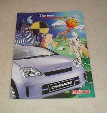 Daihatsu Charade Brochure 2003 - EL 3 & 5 door - SL 5 Door