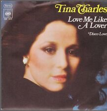 "7"" Tina Charles Love Me Like A Lover / Disco Love 70`s CBS"