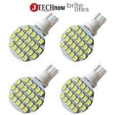Jtech 4x T10 921 194 24 SMD LED Bulb Super Bright White