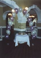 WEDDING - BALLOON TABLE ARCH KIT - LILAC AND IVORY