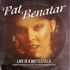 PAT BENATAR - LIVE IS A BATTLEFIELD (LIVE IN AUSTIN,TEXAS,OCT 1981)   CD NEU
