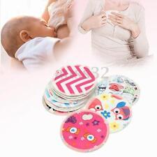12x Bamboo Waterproof Leakproof Anti-spill Washable Nursing Breastfeeding Pads