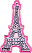 EIFFEL TOWER PATCH - MONUMENTS - FRANCE  VACATION - Iron On Embroidered Applique