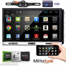"Android 4.4 7"" 2Din InDash Car DVD Radio Stereo Player WiFi 3G GPS+OBD2+CAMERA"