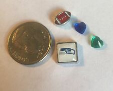 Seattle Seahawks Fits Origami Owl Superbowl Football Nfl Game 1 Love Charm