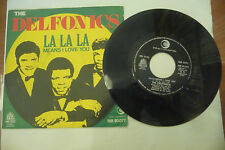 "THE DELFONICS""LA LA LA-disco 45 giri RICORDI It 1969"" UNICA STAMPA Italiana"