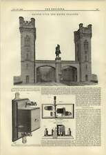 1884 Bridge Over The Rhine Cologne Andersen Electromagnet Cutout