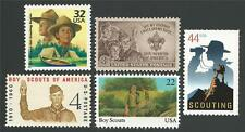SALE! Boy Scouts of America 40th 50th 75th 100th Anniversary US Stamp Set MINT!