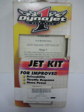 NEW DYNOJET STAGE 1 JET KIT 2000-2001 YAMAHA YZF 1000 R1 4165 STREET BIKE DYNO