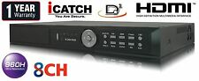 8 Channel Network Security DVR 480FPS H.264 CCTV 8CH Netwrok HDMI Mobile Audio