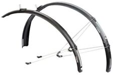 ZEFAL PARAGON C50 26/28 ROAD BIKE CYCLE FRONT REAR MUDGUARD SET (52mm)