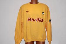 felpa hoodie roma vintage retro barilla anni 90 cotone ultras stadio 80s NOS 199