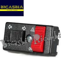 5752 - COMMUTATORE DEVIO FRECCE CON EMERGENZA VESPA 125 150 200 PX ARCOBALENO T5