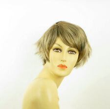 short wig women light blond copper wick clear and chocolate ref ROMANE 15613h4