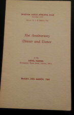 THE ENFIELD ATHLETIC CLUB & CHAMPIONS Dinner & Dance Menu 1948