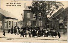 CPA SAINTE SAVINE - Mairie et école de garcons (179086)