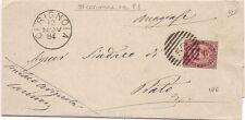 P5929   Bari, CERIGNOLA, annullo numerale a sbarre 1884