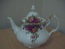 """Royal ALBERT """"Old Country Roses"""" TEIERA TAZZE (6) - Prima Qualità-Made England"""