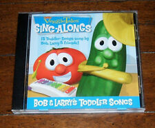 CD: VeggieTales - Bob and Larry's Toddler Songs / 15 Sing Along Twinkle Wheels
