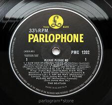 The Beatles - Please Please Me - UK Original 1963 MONO Parlophone LP EXCELLENT