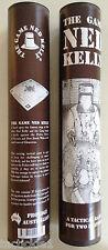 """NED KELLY - The Bushranger Game - Australian Made """"PEWTER"""" Edition"""