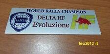 Lancia delta hf integrale 8 16 valvole evoluzione badge stemma targhetta tunnel