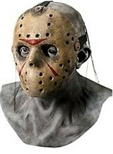 Mens Adult FRIDAY THE 13TH Deluxe Jason Costume Mask