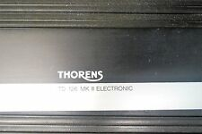 THORENS TD-126 MKII FRONT PLATE FOR PARTS ONLY