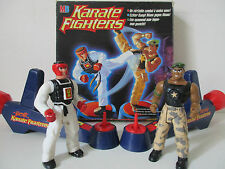 KARATÉ FIGHTERS - LA STAR DU KICK VS JOE L'ECLAIR - COMPLET - MB HASBRO 1996