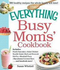 BUSY MOMS COOKBOOK Includes - Peach Pancakes, Asian Chicken Noodle Salad NEW