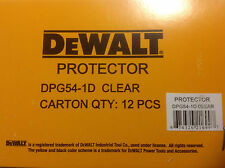 12 pack Dewalt DPG54-1D Protector Clear High Performance   Safety GLASSES