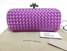 P3416 Brand New BOTTEGA VENETA Stretch Knot Clutch in Peony Sold Out Color $1800