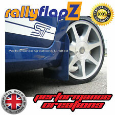 rallyflapZ FORD FIESTA Mk6 ST150 (02-08) Mudflaps Performance Blue Polyurethane