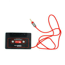 Fashion Car Audio Cassette Tape Stereo Adapter for iPod Phone CD MP3/4 AUX3.5mm