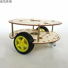 DIY Remote Control Car Chassis for R3W4 Robot  Creative Puzzle Model Self-made