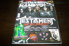 GREEK METAL HAMMER MAGAZINE 10/2016 TESTAMENT NIGHTSTALKER EPICA MESHUGGAH