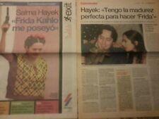 Salma Hayek lot collection report spanish magazine