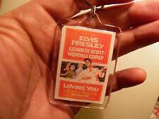ELVIS PRESLEY         LOVING YOU    FILM POSTER  LARGE   KEY RING