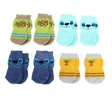Pet Dog Cat Puppy Winter Warm Socks Non-slip Anti-slip Bottom Bootie Traction M